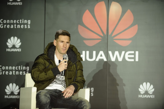Soccer star Lionel Messi Joins the Huawei Family of Global Brand Ambassadors