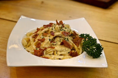 Slate District's Pasta Al Tartufo