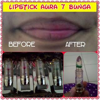 Lipstick Aura 7 bunga