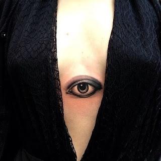 ลายสักรูปดวงตา