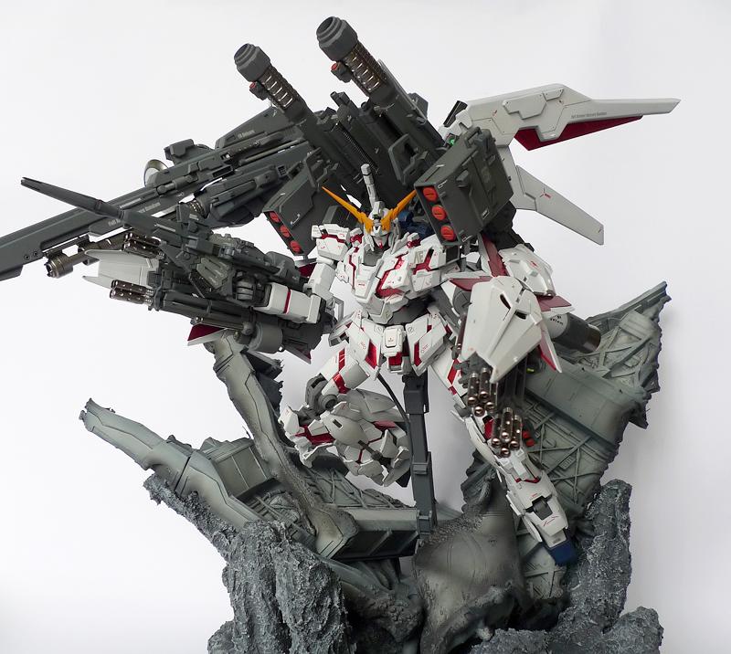 Mg 1 100 Full Armor Unicorn Gundam Version Iz Custom