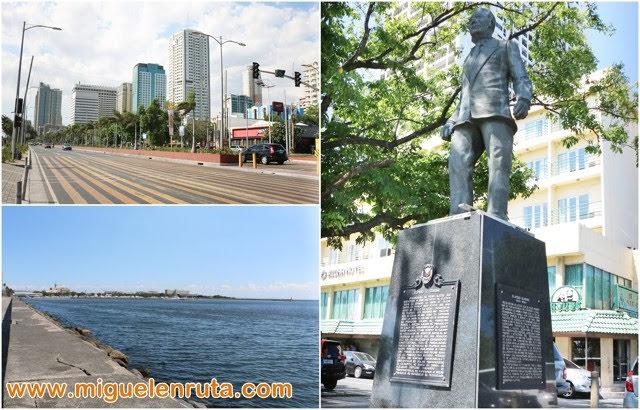 Estatua-Elpidio-Quirino-Roxas-Boulevard