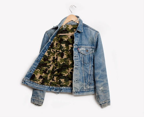 RWDZ x Levis warrior camo jacket by Runwaydreamz