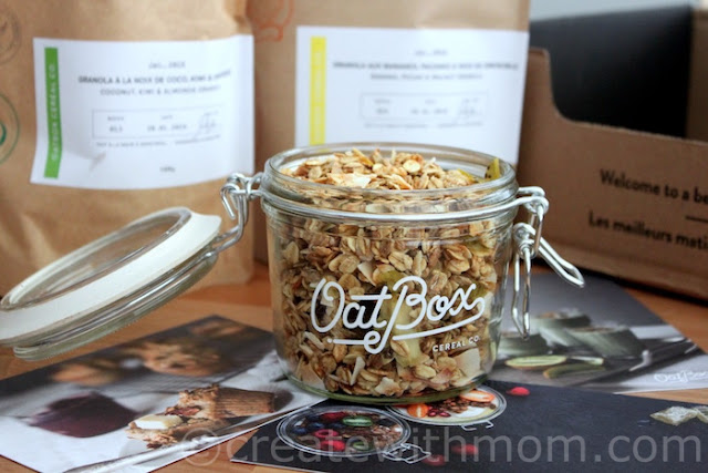 oatbox breakfast cereal