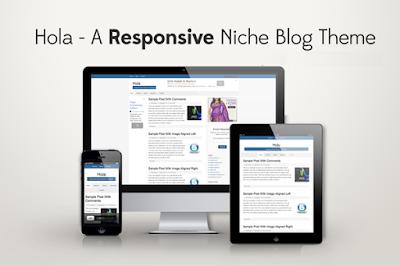 Hola Responsive Event Blogging Blogger Template