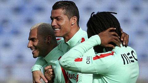 Cristiano Ronaldo là quân cờ quan trọng trong đội hình của đội tuyển này