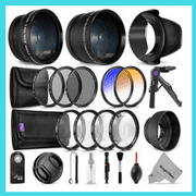 Lens accessories kit for D5200