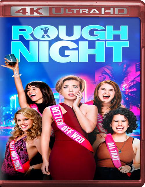 Rough Night [2017] [UHD] [2160p] [Latino]