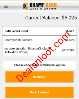 champcash app earn proof