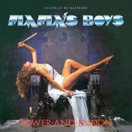 MAMA'S BOYS - Power And Passion [BGO digitally remastered] full