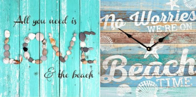 Rustic Beach Decor Wall Art