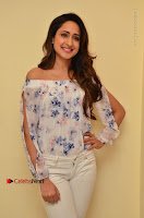 Actress Pragya Jaiswal Latest Pos in White Denim Jeans at Nakshatram Movie Teaser Launch  0045.JPG