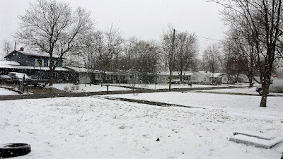 Snow in northwest ohio