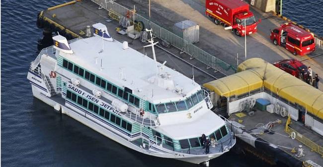 Στην Ιαπωνία, σκάφος συγκρούστηκε με ένα άγνωστο θαλάσσιο πλάσμα