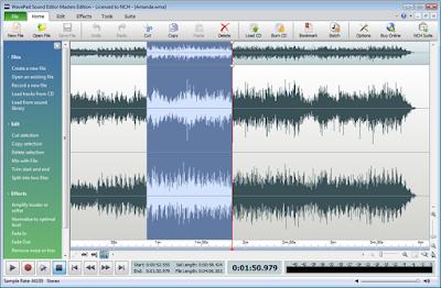 برنامج تعديل الصوت برنامج wavepad sound editor اخر اصدار 2016