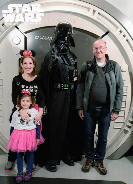 Darth Vader en Disneyland París