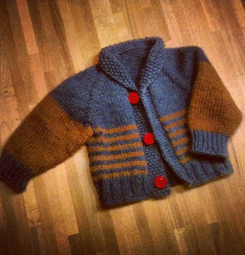 Children's Cardigan - Free Knitting Pattern