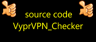 source code VyprVPN_Checker
