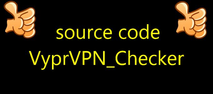 source code VyprVPN_Checker