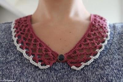Como hacer un Cuello de Crochet Facil