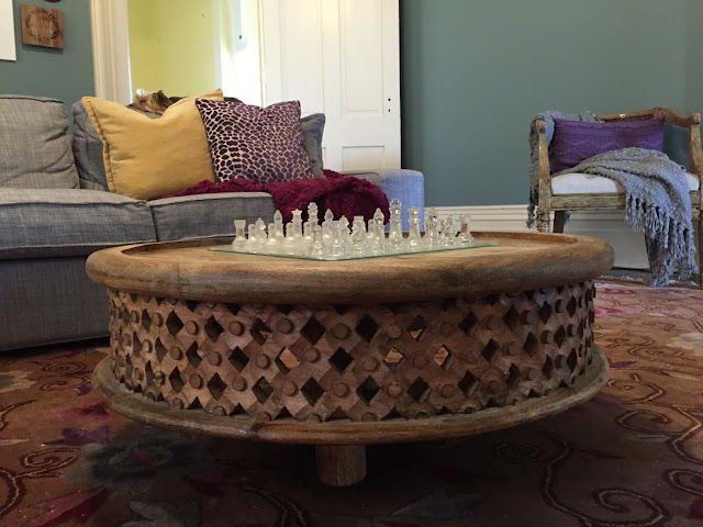 historic mansion rehab and remodeling project with west elm coffee table