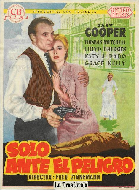 Programa de Cine - Solo ante el Peligro - Gary Cooper - Grace Kelly