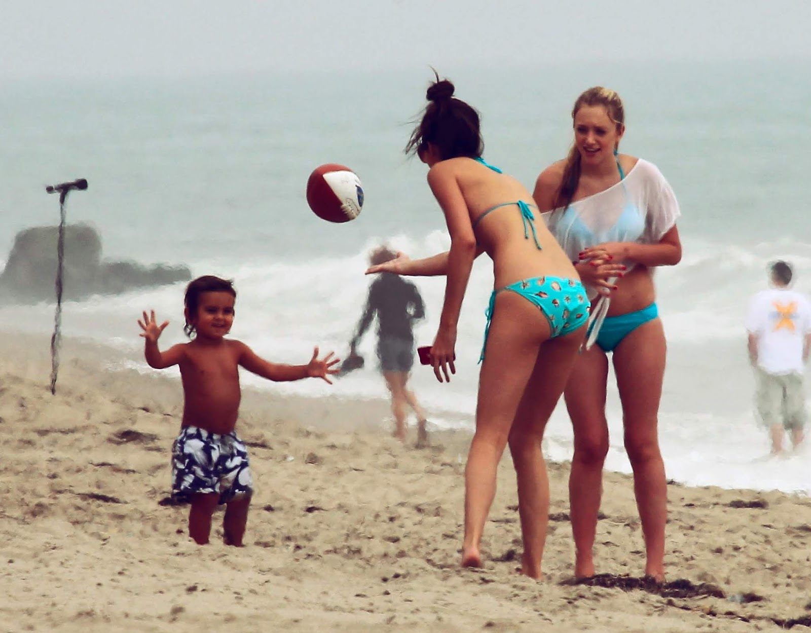 01 - At a Beach with friends in Malibu California on July 14, 2012