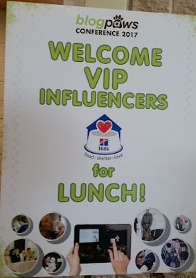 VIP Luncheon for #HillsPet influencers at #Blogpaws Conference