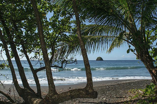 La plage de l'anse Céron
