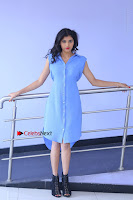 Telugu Actress Mounika UHD Stills in Blue Short Dress at Tik Tak Telugu Movie Audio Launch .COM 0100.JPG