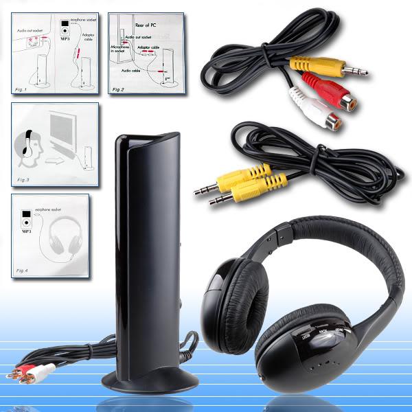 Cuffie Stereo 5 in 1 Wireless Hi-Fi S-XBS | eBay