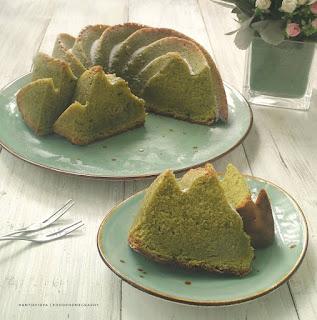 Resep Matcha Pound Cake Ala Rumahan Enak by @rantie_fidya