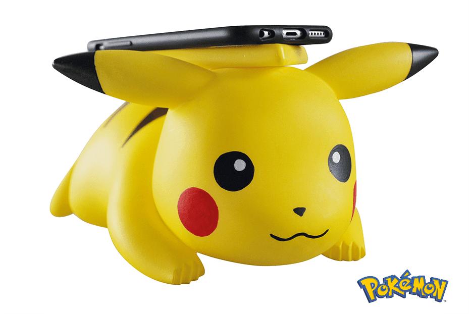 史上最萌 iPhone 無線充電板 - Pikachu