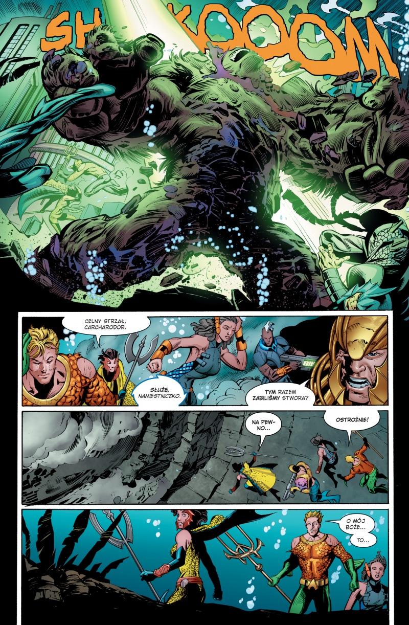Aquaman tom 2: Nadpływa Czarna Manta przykładowa strona