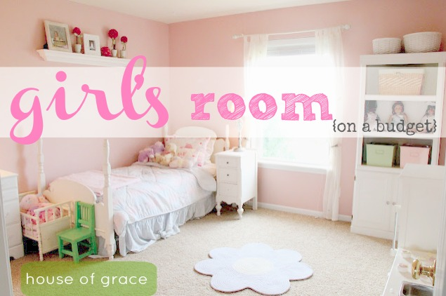 How To Decorate A Room On A Budget: Girls Room On A Budget