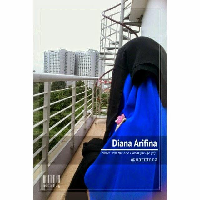 Profil Muslimah berhijab syari Diana Arifina yang menginspirasi