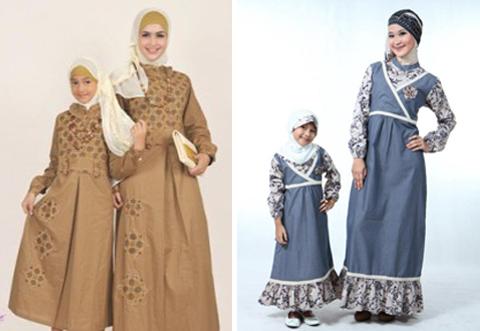 busana muslim ibu dan anak