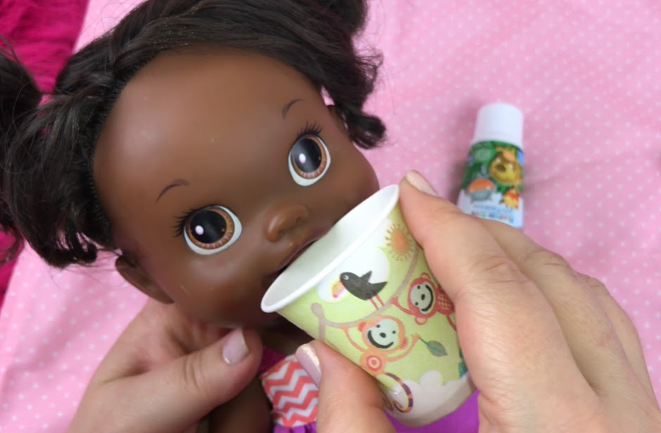 Baby Alive Babys New Teeth Doll Drinks & Wets Tooth Brush ...  |Baby Alive New Teeth