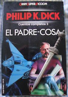 Portada del libro El padre-cosa, de Philip K. Dick
