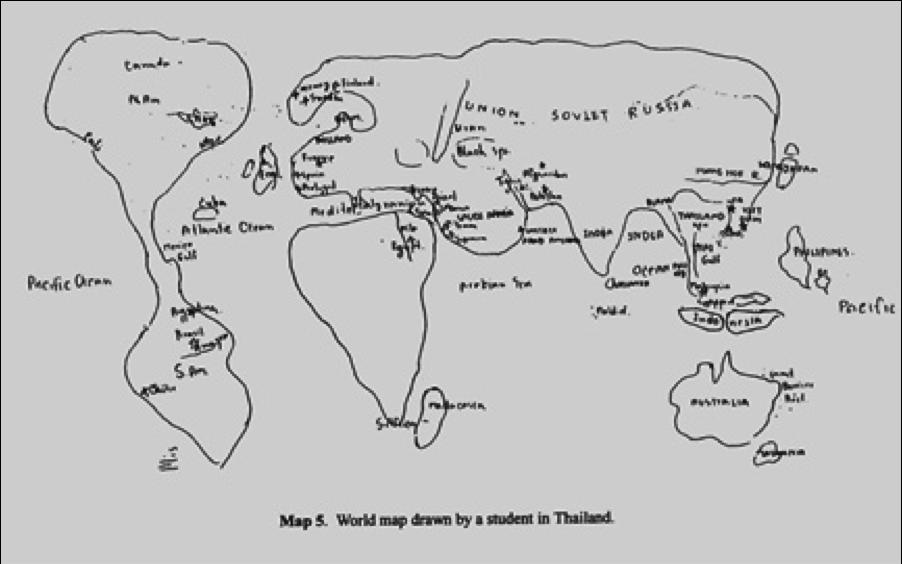 Map analysis: Mental Map