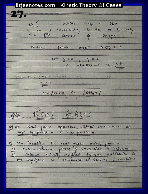 Kinetic Theory Of Gases Notes12