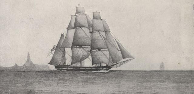 El Beagle, conocido navío de Darwin