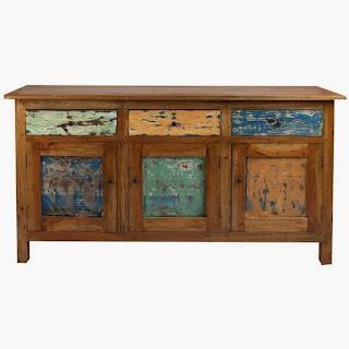 aparador rustico, mueble salon rustico, mueble colores