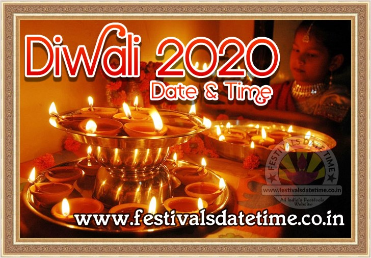 Date And Time Calendar 2020 2020 Diwali Puja Date & Time in India, दिवाली पूजा 2020