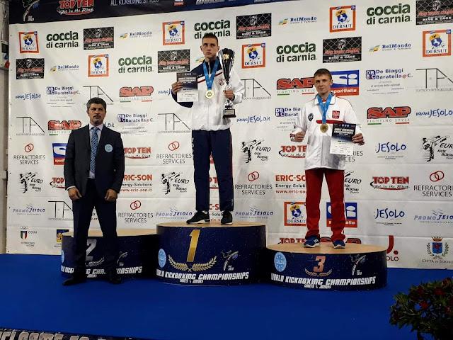 Mistrzostwa Świata, Lido di Jesolo,WAKO,junior,kadet,medale,srebro,brąz,Przemysław Kalisz, Jakub Zimoch,light contact,kick light, k-1