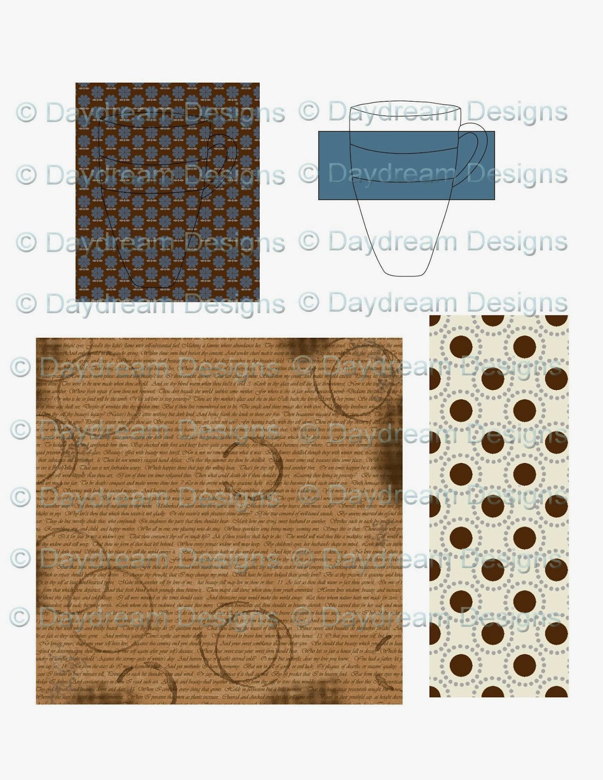 Daydream Designs By Diane Better Latte Than Never Free