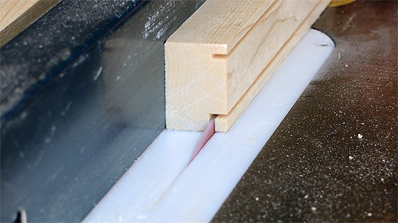 Cutting Frames on a Table Saw
