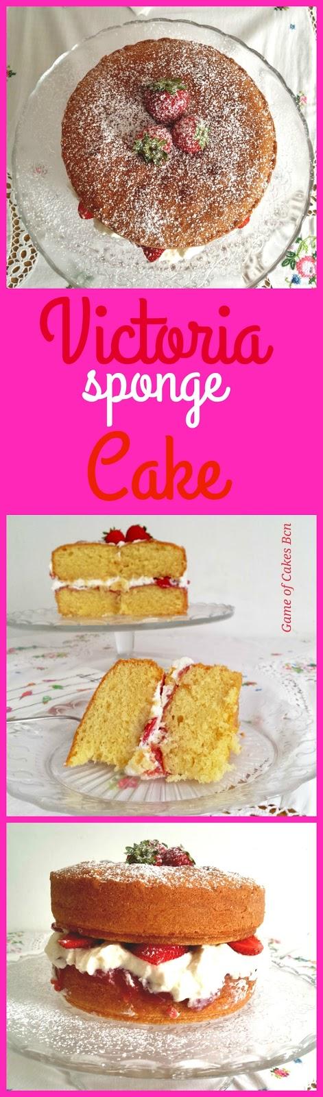 Victoria Sponge Cake, Pastel Victoria