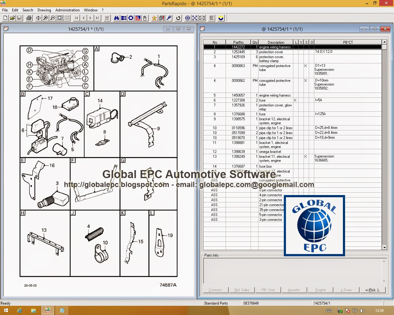 Global Epc Automotive Software Daf Rapido Parts Catalogue 05 Fuse Box 052015 Dvd 1505 Want To Buy It For 30 Email Us Globalepcyandexcom
