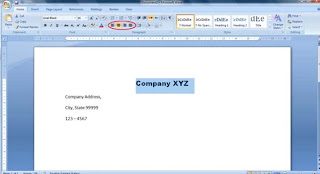 d কিভাবে Business Letterhead WORD 2007 এবং 2010 এ তৈরী করা যায়? | Techtunes কিভাবে Business Letterhead WORD 2007 এবং 2010 এ তৈরী করা যায়